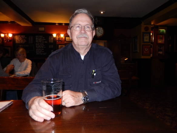 a pint of bitter